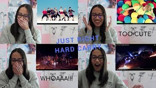 FIRST TIME REACTING TO GOT7 (Just Right & Hard Carry)