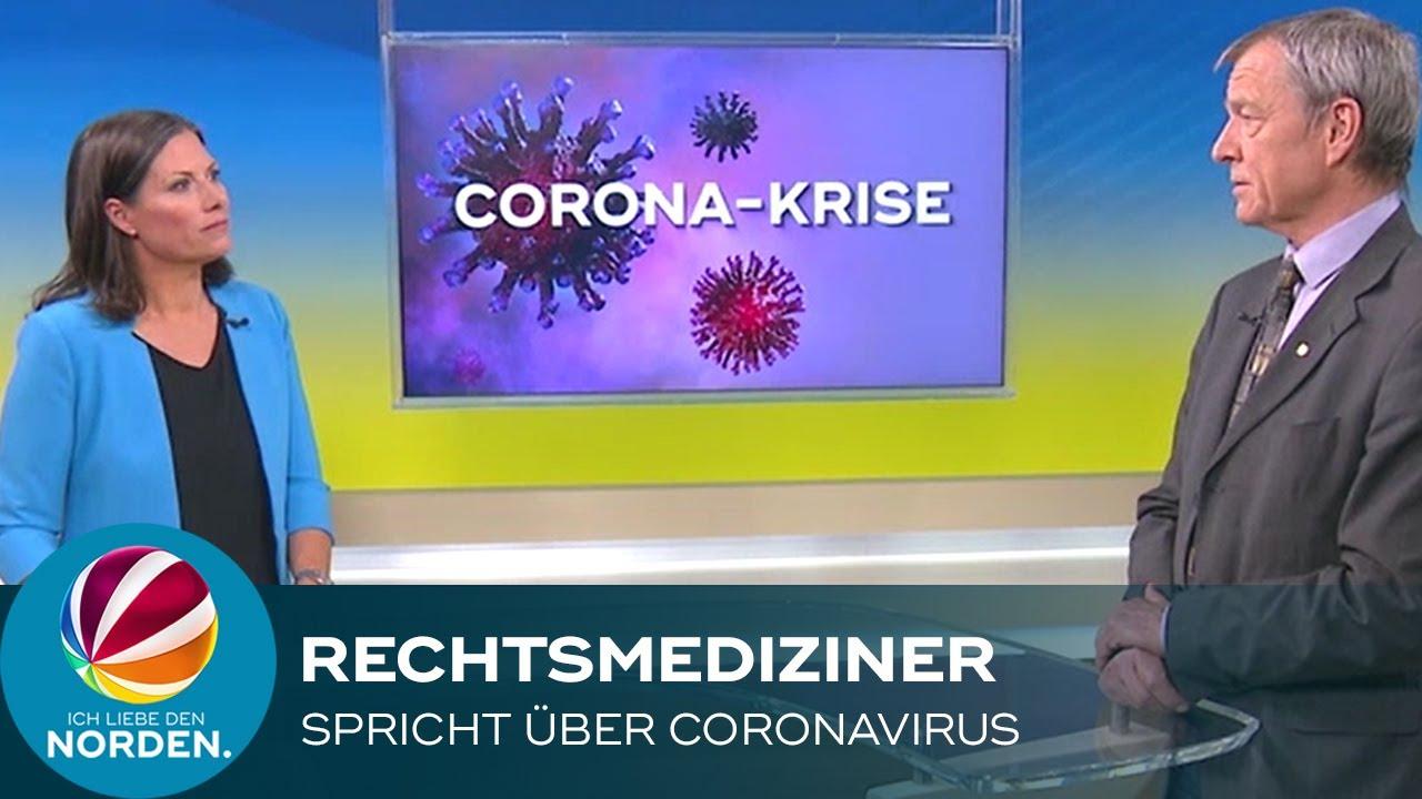 Rechtsmediziner spricht über Coronavirus
