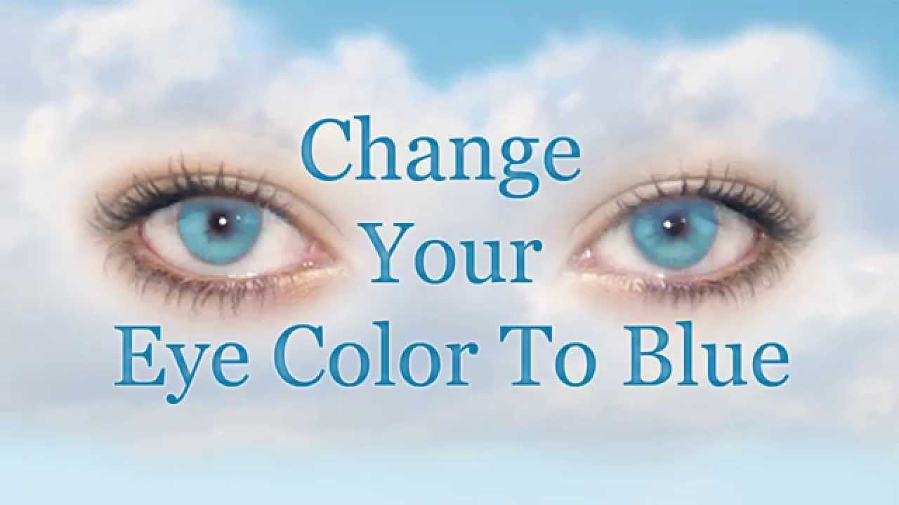 Can Your Eye Colour Change Naturally