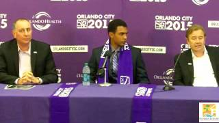 Tommy Redding signs for Orlando City Soccer