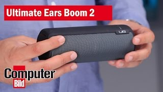 Ultimate Ears Boom 2: Test des Bluetooth-Lautsprechers