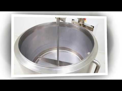 200ltr Cheese Kettle Vat , Artisan Cheese Making Equipment