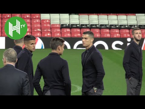 Cristiano Ronaldo returns to Old Trafford with Juventus ahead of UCL clash - Man United v Juventus