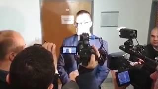 Prokurátor pred súdom, kde sa rozhodovalo o väzbe pre Ruska