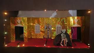 Вертепная драма Рождественская история Детский фольклорный ансамбль Вагане село Верховажье