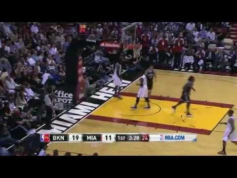 Brooklyn Nets vs Miami Heat 12/1/12
