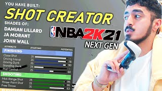 THE BEST SHOT CREATOR BUILD in NEXT GEN NBA 2K21! TYCENO BEST GUARD BUILD FOR PS5 2K21 REVEALED