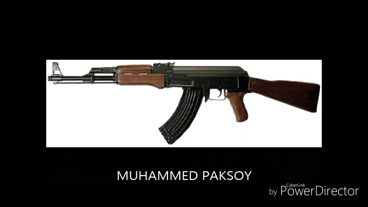 AK47 silah sesi zil sesi