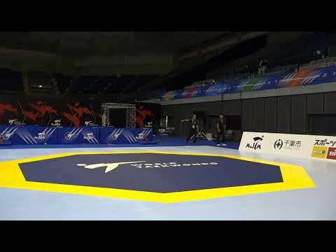 Chiba 2019 World Taekwondo Grand Prix Day 3 Court 3 Session 2