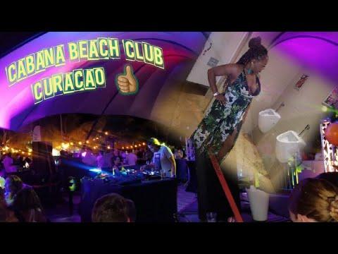 Cabana Beach Club Curaçao TravelVlog Baecation Curacao  Pt 3