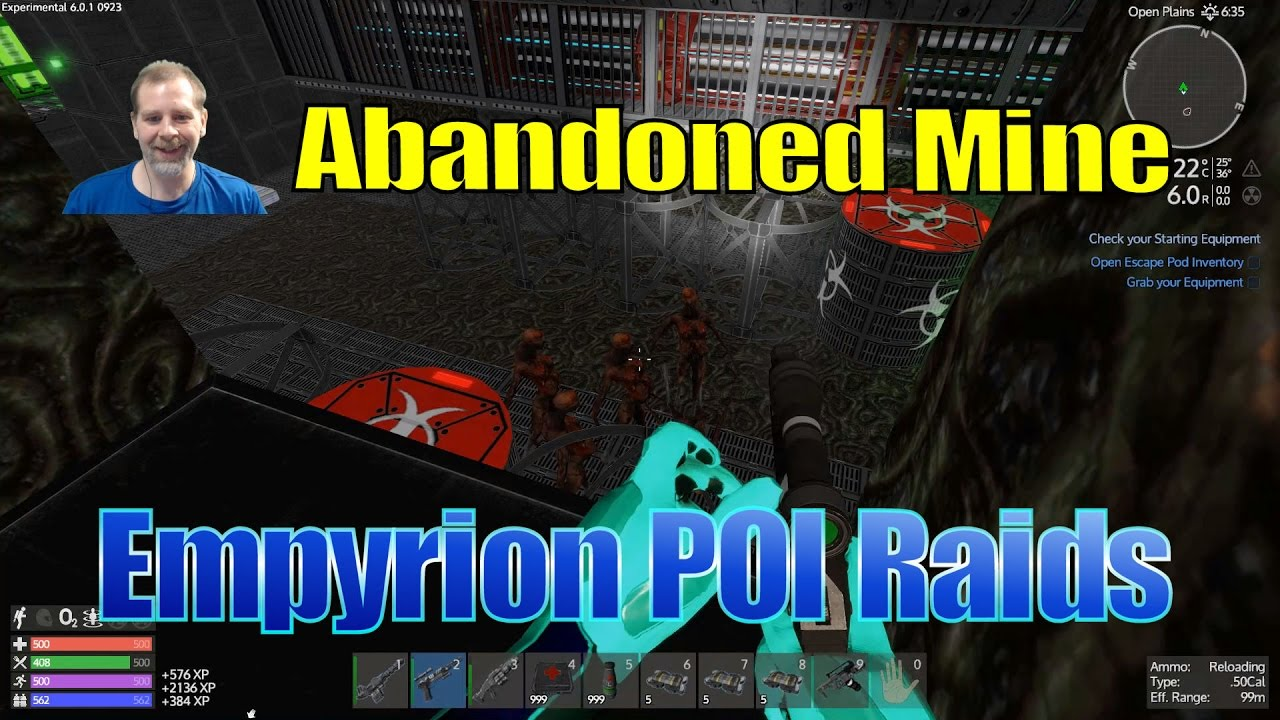 Empyrion Poi Raid Gameplaytutorial Abandoned Mine Speedy Youtube