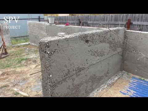 Стены из монолитного керамзитобетона своими руками