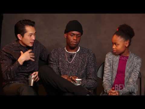 "Justin Chon, Curtiss Cook Jr. & Simone Baker talk ""Gook"" at Sundance 2017"