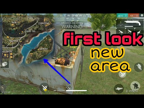 NEW SENTOSA ISLAND AREA SNEAKPEEK [ENGLISH] | FREE FIRE BATTLEGROUNDS