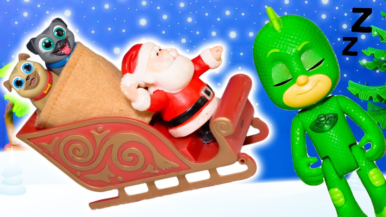 Puppy Dog Pals Mission Is To Save Christmas And Help Santa And Pj