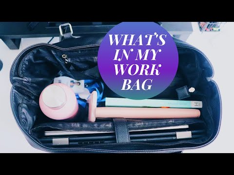 What's In My Work Bag - TA Consultant