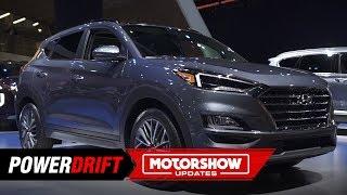 2019 Hyundai Tucson : Gets facelifted : 2018 LA Auto Show : PowerDrift