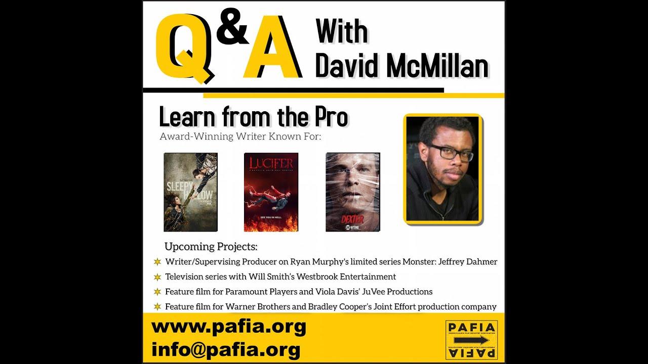 Masterclass with David McMillan