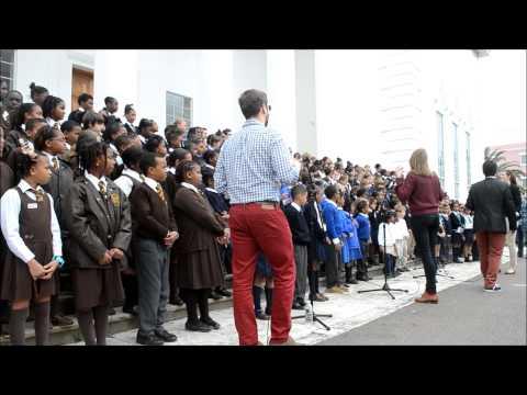 School Children Sing At City Hall Feb 20 2013