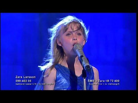 Zara Larssons hela finalframträdande i Talang 2008 - Talang (TV4)