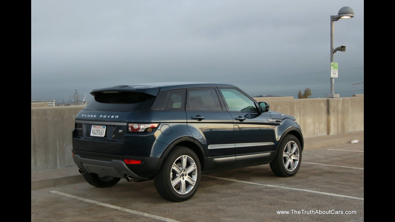 2013 land rover range rover evoque review and road test. Black Bedroom Furniture Sets. Home Design Ideas