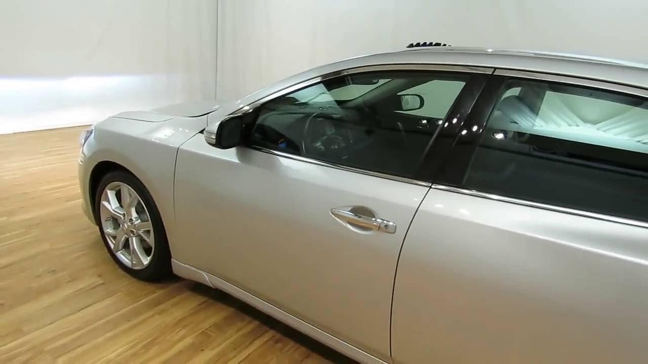 2012 Nissan Maxima NAV LEATHER MOONROOF REAR CAM 35 SV W Premium Pkg CARVISIONCOM