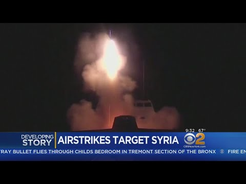 Trump Tweets 'Mission Accomplished' After Airstrikes Target Syria