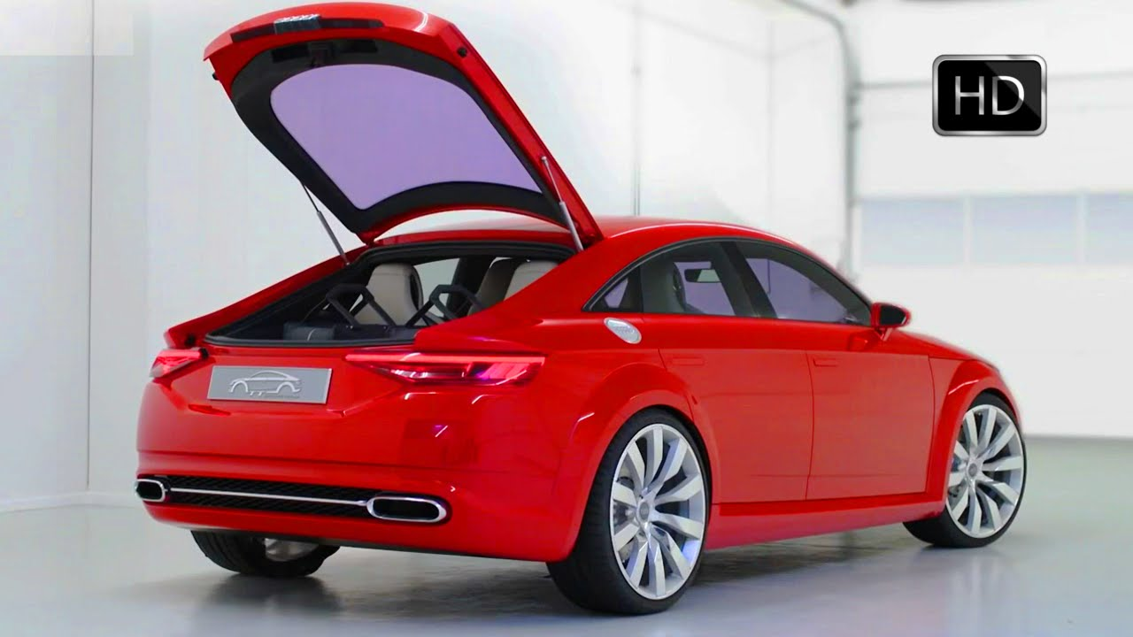 audi tt sportback concept sedan 2.0 tfsi 400 hp interior and