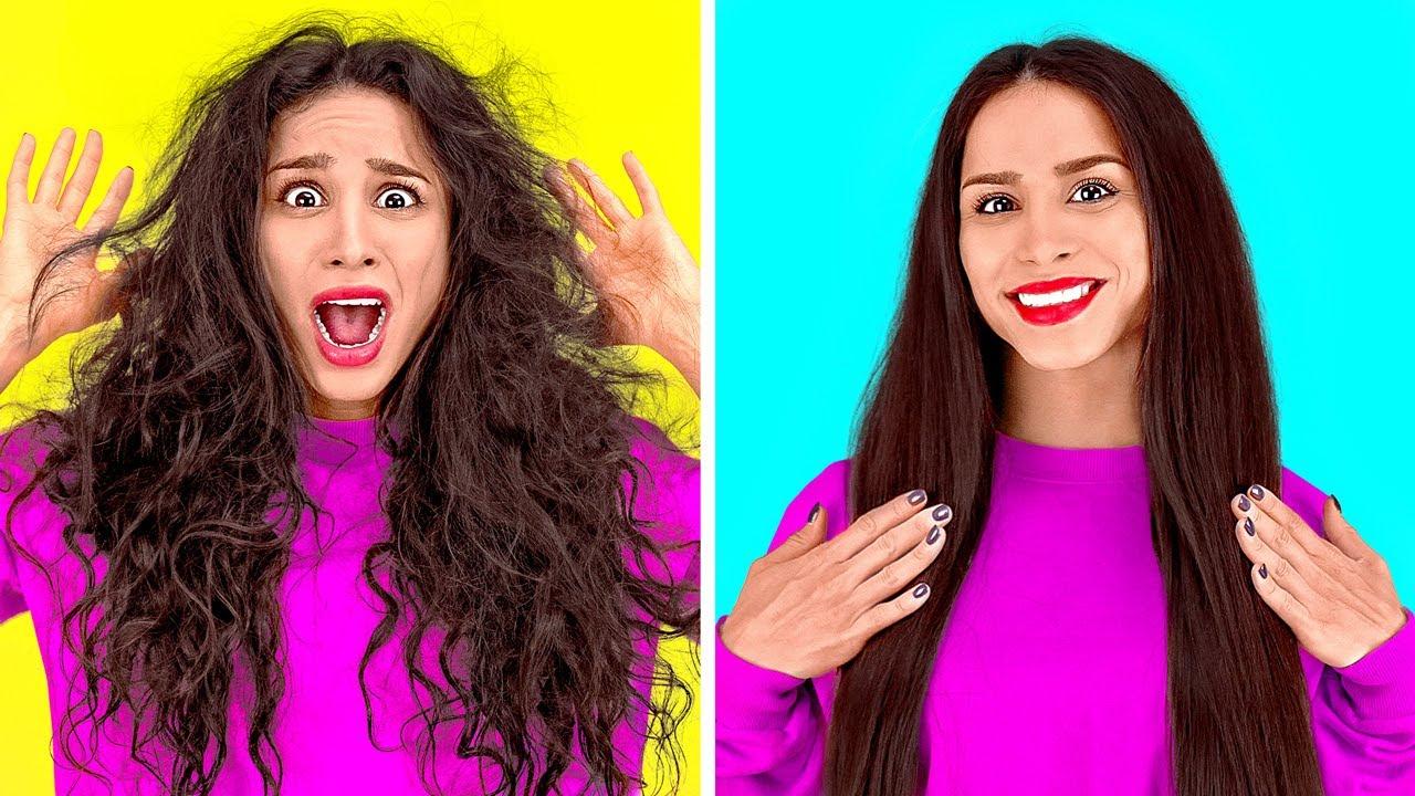 INCREÍBLES TRUCOS PARA EL PELO    Ideas geniales de belleza para tu cabello por 123 GO!