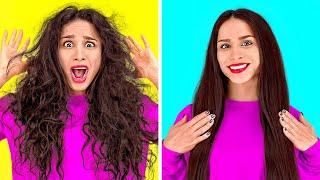 INCREÍBLES TRUCOS PARA EL PELO || Ideas geniales de belleza para tu cabello por 123 GO!