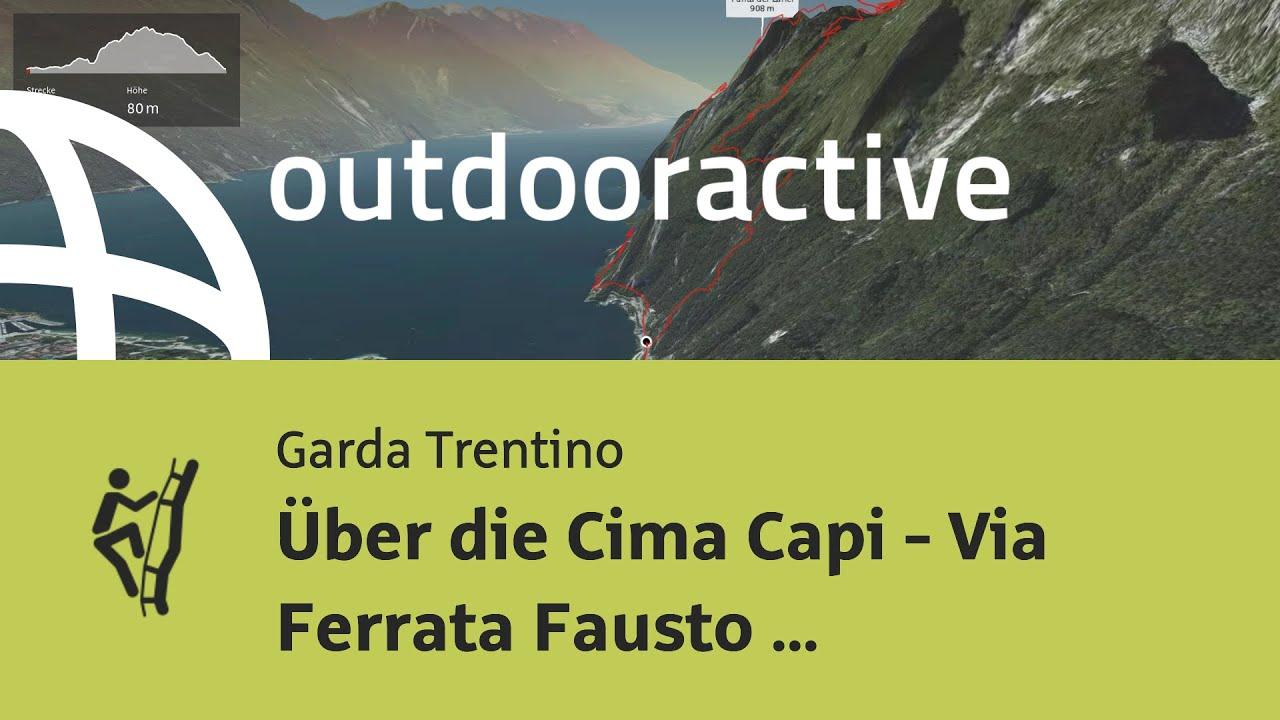 Klettersteig Cima Capi : Klettersteig am gardasee: Über die cima capi via ferrata fausto