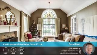 6505 Lakeshore Drive Dallas, Texas 75214 | Video Slideshow | QuickTours.net