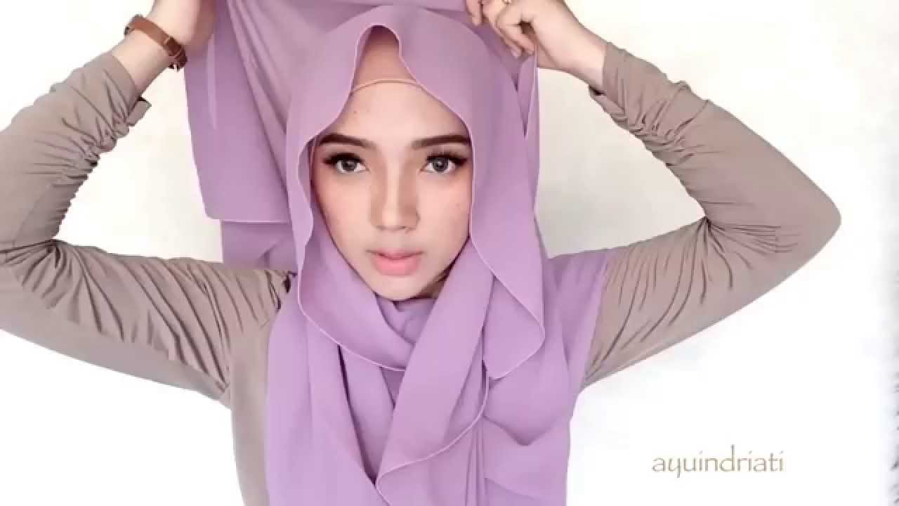 hijab tutorial 12 - 4 ways to wear plain pastel pashmina