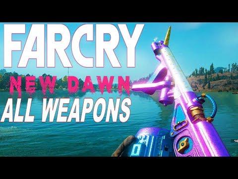 Far Cry New Dawn - All Weapons / Gun Sounds