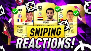 FIFA 17 | SNIPING SUMMER TRANSFERS 🔥 | LIVERPOOL SALAH AND MORE  😱
