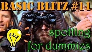 Spotting for dummies | Basic Blitz #11 | WoT Blitz
