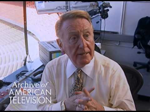 Vin Scully discusses his process during a broadcast - EMMYTVLEGENDS.ORG