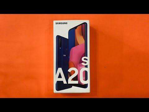 Samsung Galaxy A20s Unboxing