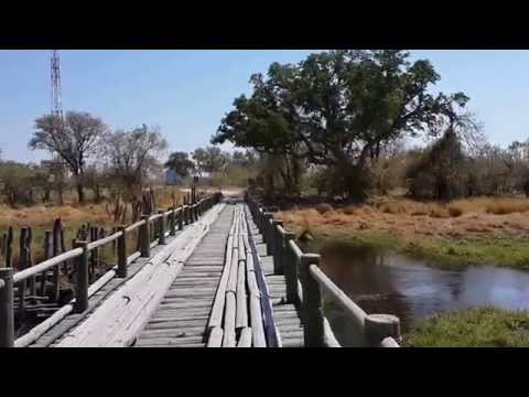 Bridge Crossing Khwai River, Botswana