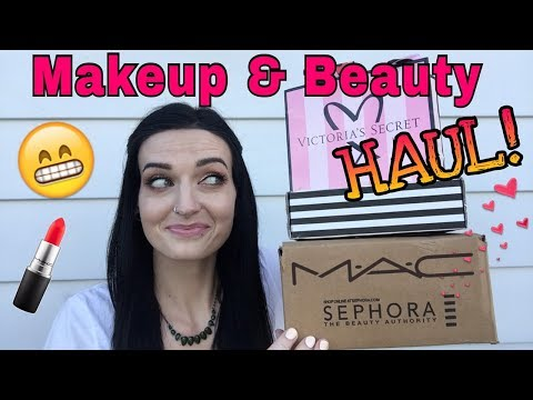 Makeup & Beauty Haul (PART 2) Sephora, MAC, Grande Lash, VS, etc
