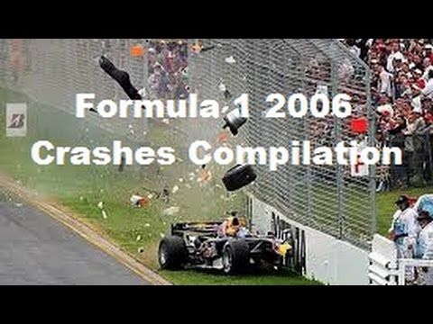 Formula 1 2006 Crashes Compilation