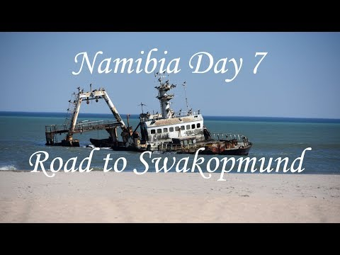 Namibia roadtrip day 7 Skeleton Coast to Swakopmund Namibia