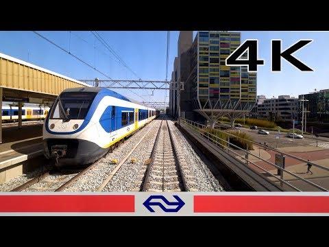 Tulip Express 4K CABVIEW HOLLAND Den Haag - Amsterdam VIRM 24apr 2019