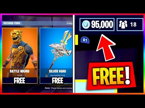 THE BEST WAY TO GET EVERY ITEM FREE in FORTNITE! Get FREE SKINS, VBUCKS, MAX BATTLE PASS Fortnite