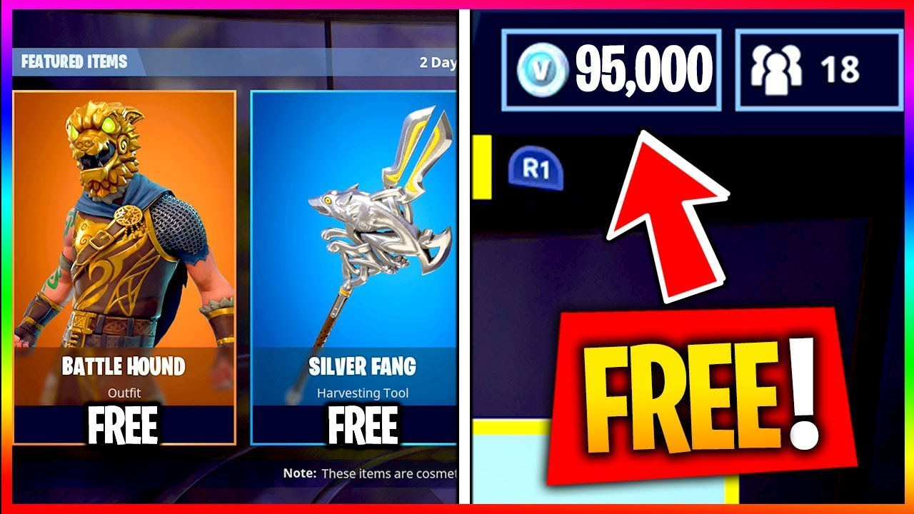 The Best Way To Get Every Item Free In Fortnite Skins Vbucks Max Battle P