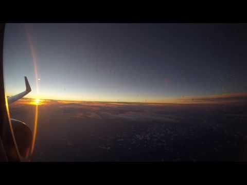 [4K-HD] Full flight time lapse American Airlines AA206 MIA-MXP