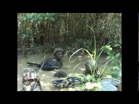 Welcome to the Jungle Marines!  JWTC (Jungle Warfare Training Center)