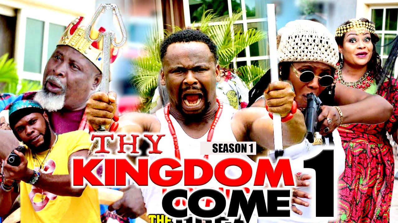 Download THY KINGDOM COME (PART 1) LATEST ZUBBY MICHAEL NOLLYWOOD MOVIE 202I