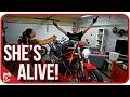 SHE'S ALIVE!!! [Wrecked Bike Rebuild Ep. 03 - Ducati Monster 1100]