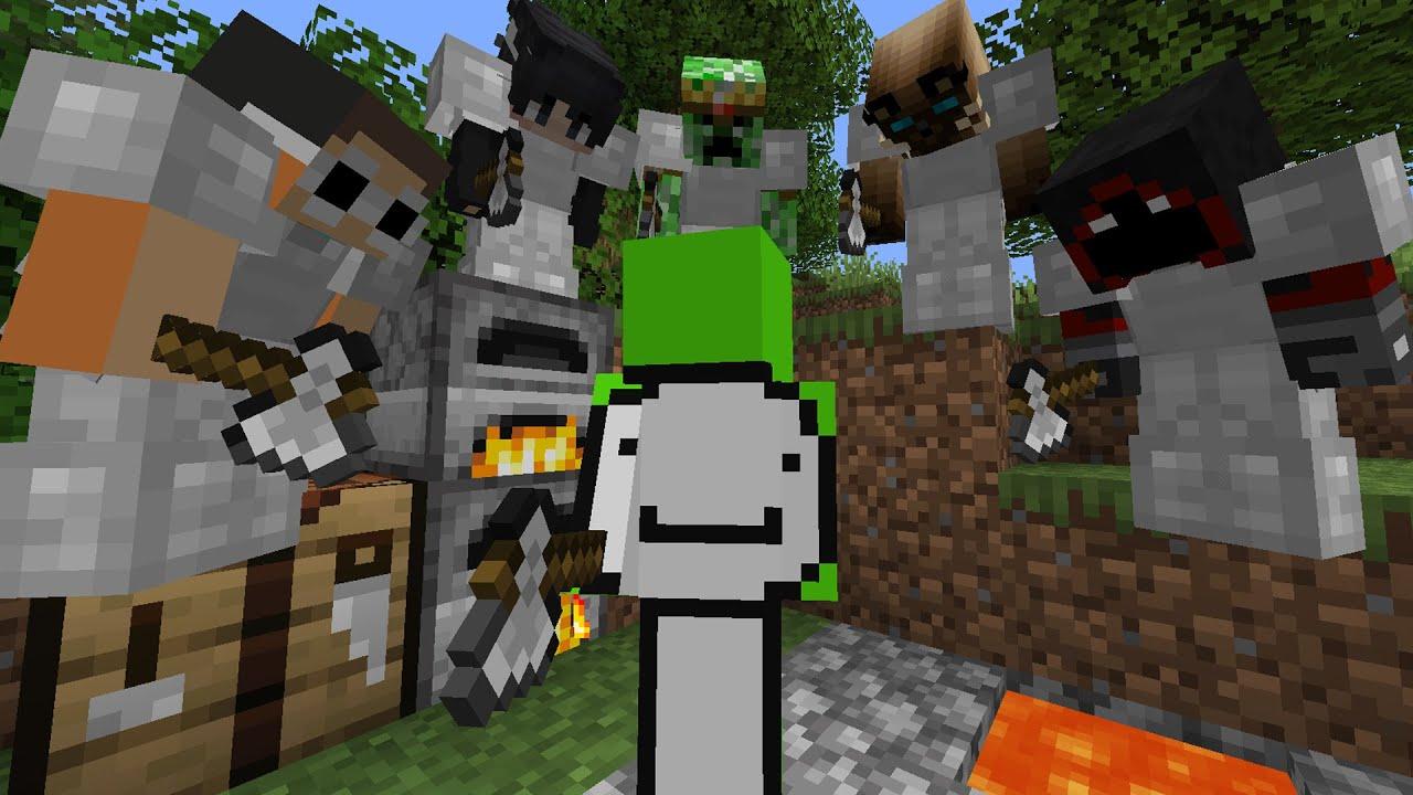 Download Minecraft Speedrunner VS 5 Hunters FINALE